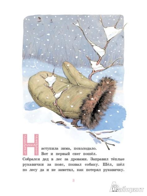 Иллюстрация 1 из 6 для Рукавичка | Лабиринт - книги. Источник: Лабиринт