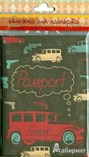 Иллюстрация 1 из 4 для Обложка для паспорта (34033)   Лабиринт - канцтовы. Источник: Лабиринт