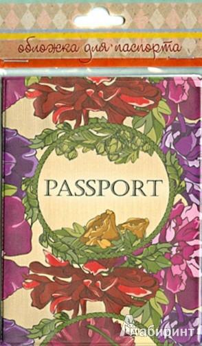 Иллюстрация 1 из 3 для Обложка для паспорта (34035)   Лабиринт - канцтовы. Источник: Лабиринт