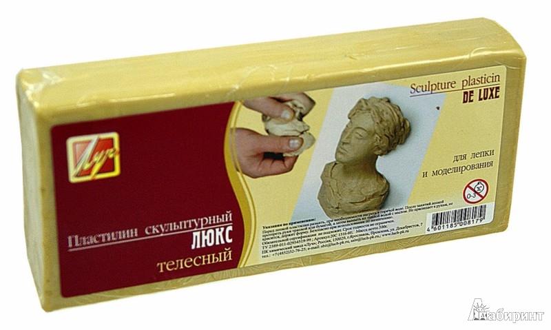 Иллюстрация 1 из 5 для Пластилин скульптурный телесный 500гр (9с441-08) | Лабиринт - игрушки. Источник: Лабиринт