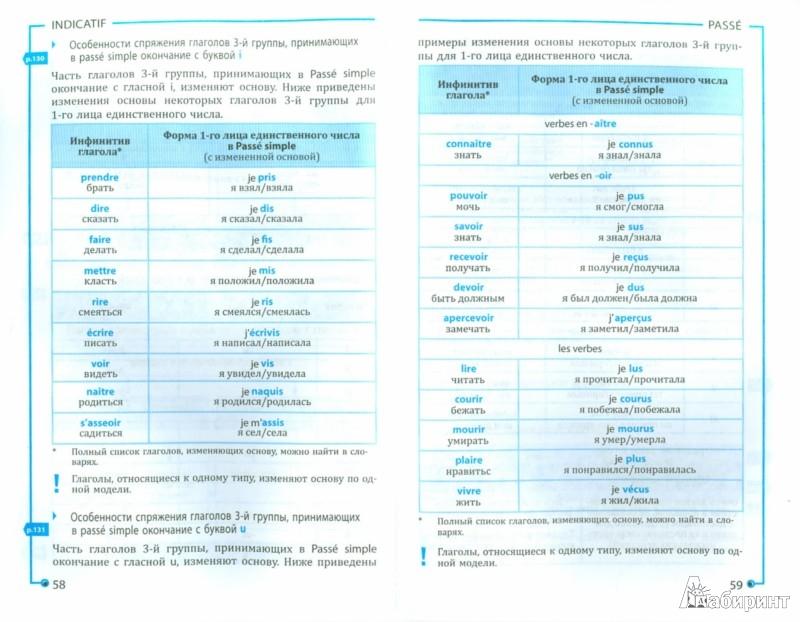 Иллюстрация 1 из 22 для Всё о французском глаголе. Полный справочник в таблицах и схемах - Догадина, Долгова | Лабиринт - книги. Источник: Лабиринт