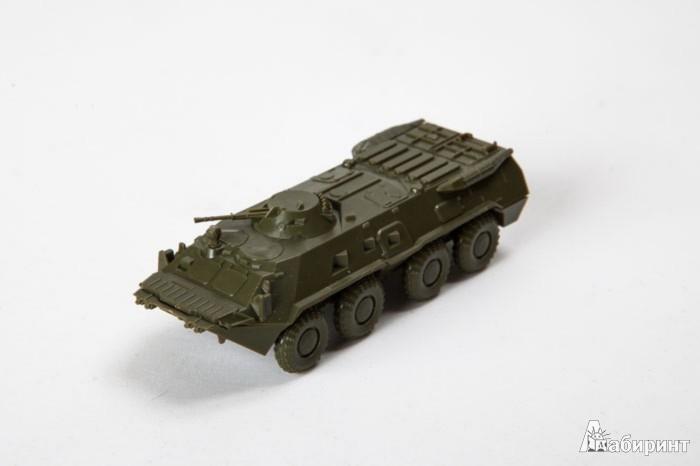 Иллюстрация 1 из 14 для Советский бронетранспортёр БТР-80 (7401)   Лабиринт - игрушки. Источник: Лабиринт
