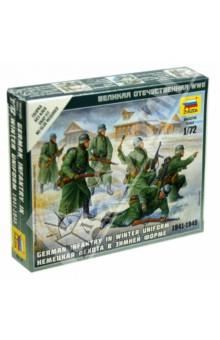 Купить Сборная модель Немецкая пехота в зимней форме 1941-1945 гг. (6198), Звезда, Пластиковые модели: Солдаты