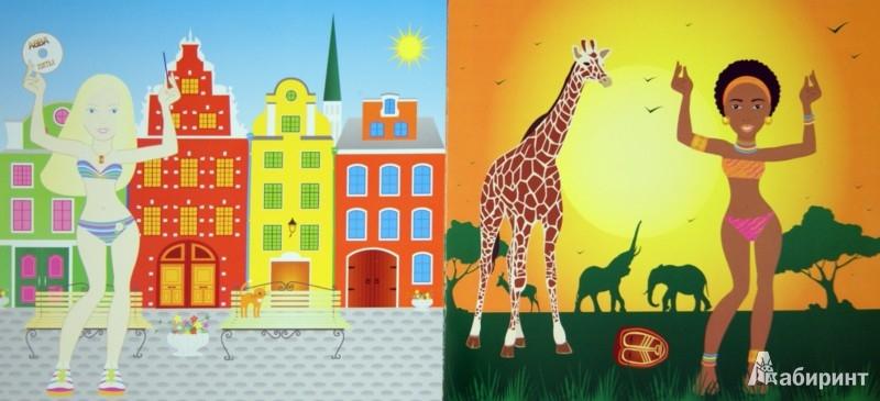 Иллюстрация 1 из 34 для Мы такие разные. Книжка с наклейками | Лабиринт - книги. Источник: Лабиринт