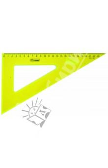 Треугольник пластиковый 23 см/30° (в ассортименте) (ТК54)