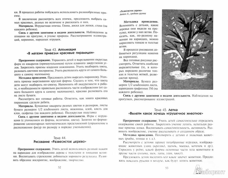Иллюстрация 1 из 8 для Изобразительная деятельность в детском саду. Средняя группа. ФГОС - Тамара Комарова   Лабиринт - книги. Источник: Лабиринт