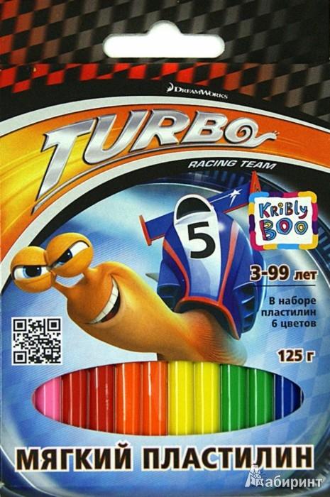 Иллюстрация 1 из 4 для Мягкий пластилин Турбо 6 цветов, 125 грамм,12 штук (51221) | Лабиринт - игрушки. Источник: Лабиринт