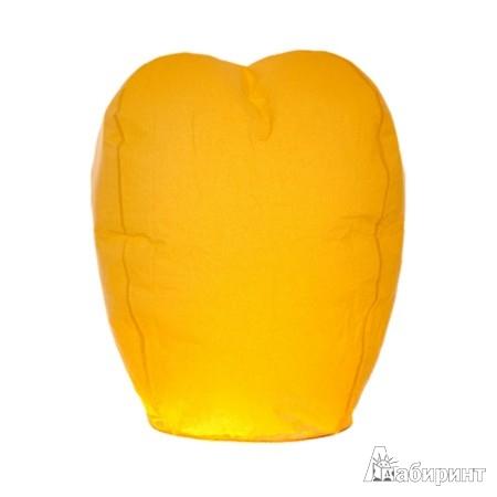 Иллюстрация 1 из 3 для Шар желаний желтый (диаметр - 38 см) (ПУБО) | Лабиринт - сувениры. Источник: Лабиринт