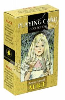 Карты игральные Алиса в Стране Чудес футболка классическая printio алиса в стране чудес