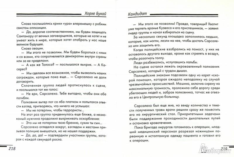 Иллюстрация 1 из 5 для Кандидат - Хорхе Букай | Лабиринт - книги. Источник: Лабиринт