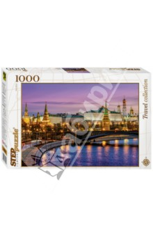 Step Puzzle-1000 Москва. Набережная (79106) пазл step puzzle москва набережная 79106