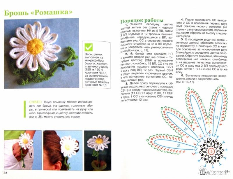 Иллюстрация 1 из 14 для Красивые цветы и листики: мастер-классы по вязанию крючком - Светлана Слижен | Лабиринт - книги. Источник: Лабиринт