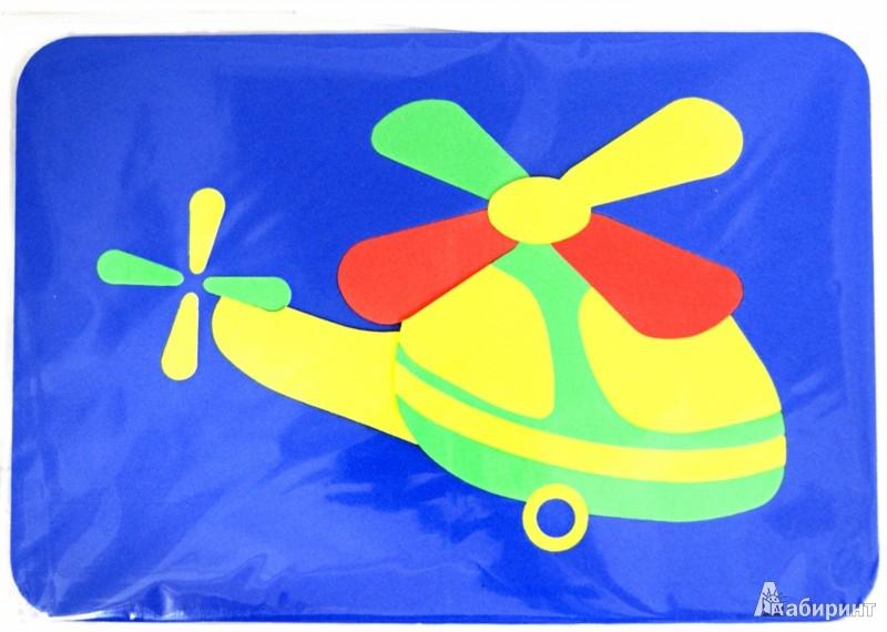 Иллюстрация 1 из 2 для Мягкие пазлы. Вертолет | Лабиринт - игрушки. Источник: Лабиринт