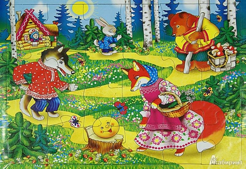 """Иллюстрация 1 из 4 для Пазл-24 """"Колобок"""" (П-2402)   Лабиринт - игрушки. Источник: Лабиринт"""