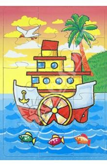 Купить Пазл-15 Кораблик (П-1502), Аделаида, Пазлы (15-50 элементов)