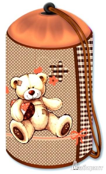 """Иллюстрация 1 из 6 для Мешок для обуви """"Мой мишка"""" (32883-12)   Лабиринт - канцтовы. Источник: Лабиринт"""