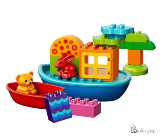 Иллюстрация 1 из 2 для Конструктор Lego Duplo Лодочка для малышей (10567) | Лабиринт - игрушки. Источник: Лабиринт