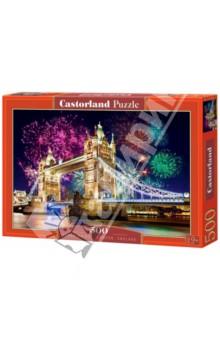 Puzzle-500 Тауэрский мост, Англия (B-52028) puzzle 500 белый котенок 29626