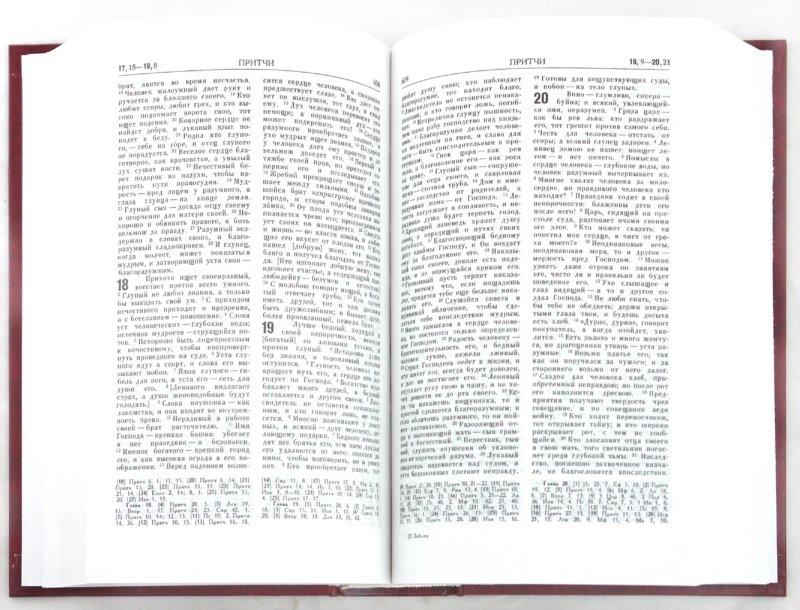 Иллюстрация 1 из 22 для Библия. Книги Священного Писания Ветхого и Нового Завета (053DC) (110)   Лабиринт - книги. Источник: Лабиринт