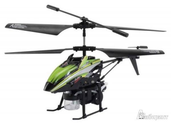 Иллюстрация 1 из 2 для Вертолет радиоуправляемый, пускает мыльные пузыри (С-00107(V757)) | Лабиринт - игрушки. Источник: Лабиринт