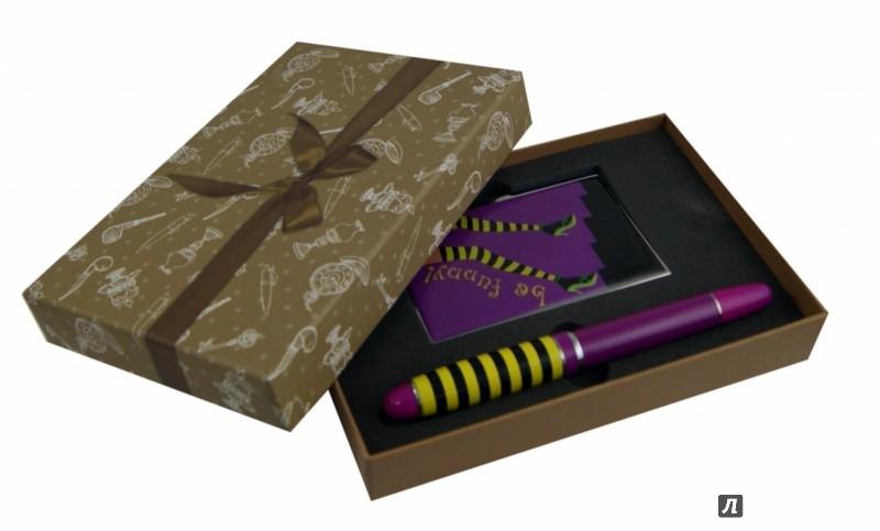 Иллюстрация 1 из 4 для Набор подарочный с ручкой и визитницей (28461)   Лабиринт - канцтовы. Источник: Лабиринт