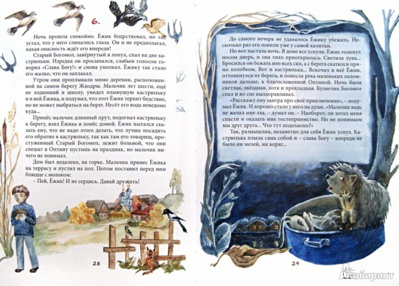 Иллюстрация 1 из 7 для Удивительная история Маленького Ёжика - Монах Лазарь (Афанасьев В.В.) | Лабиринт - книги. Источник: Лабиринт