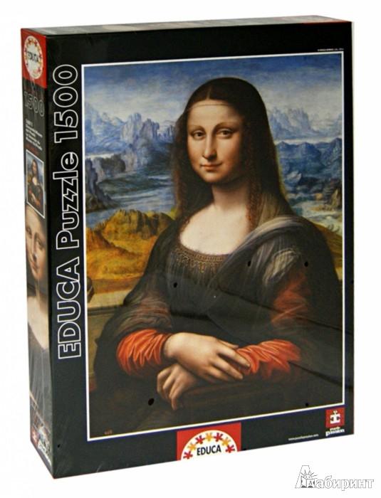 """Иллюстрация 1 из 2 для Пазл-1500 """"Джоконда, музей Прадо"""" (16011)   Лабиринт - игрушки. Источник: Лабиринт"""