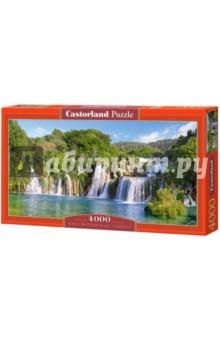 Puzzle-4000 Водопады Крка, Хорватия (С-400133) монитор за 4000 рублей