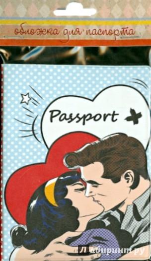 Иллюстрация 1 из 3 для Обложка для паспорта (35684) | Лабиринт - канцтовы. Источник: Лабиринт
