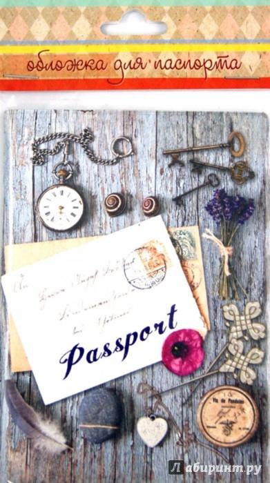 Иллюстрация 1 из 3 для Обложка для паспорта (35689)   Лабиринт - канцтовы. Источник: Лабиринт