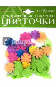 """Декоративные наклейки """"Цветочки"""", в ассортименте (2-022)"""