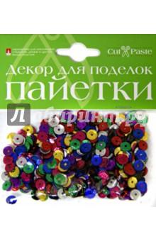 """Декоративные элементы """"Пайетки"""", в ассортименте (2-025)"""