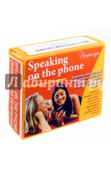 """Английский язык. Набор цветных карточек, часть В """"Общение по телефону"""""""