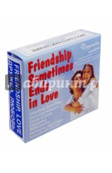 """Английский язык. Набор цветных карточек, часть В """"Дружба, любовь"""""""