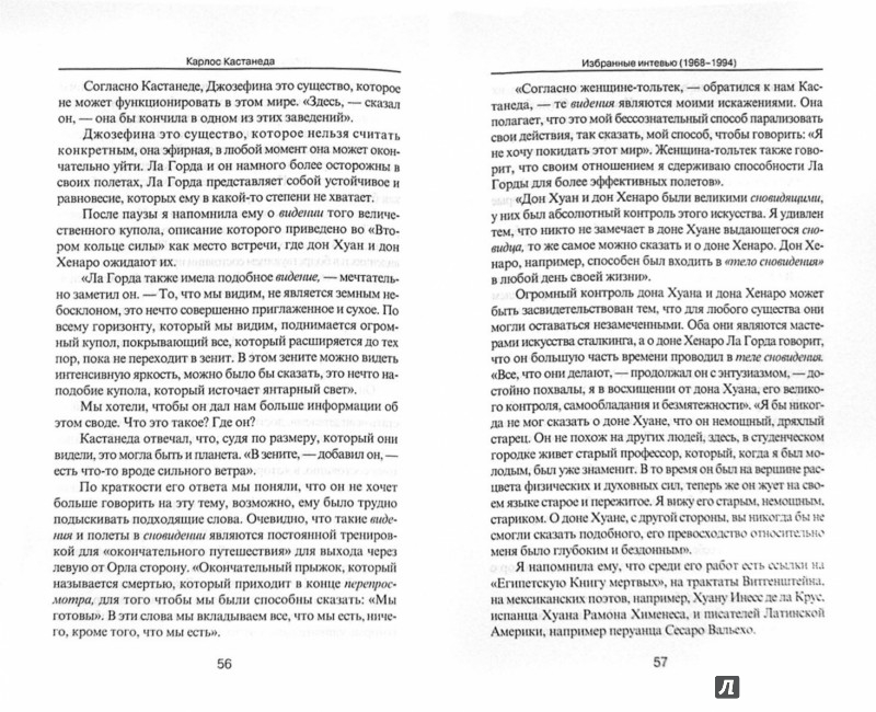 Иллюстрация 1 из 4 для Избранные интервью (1968-1994) - Карлос Кастанеда | Лабиринт - книги. Источник: Лабиринт