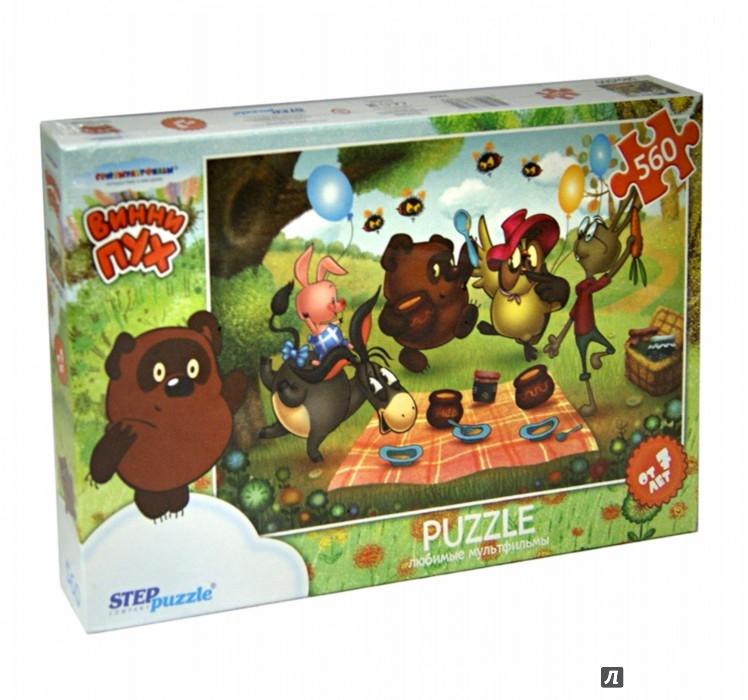 """Иллюстрация 1 из 4 для Step Puzzle-560 """"СОЮЗМУЛЬТФИЛЬМ. Винни Пух"""" (78084)   Лабиринт - игрушки. Источник: Лабиринт"""