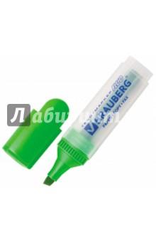 """Текстмаркер """"FLUO"""", зеленый (150399) Brauberg"""