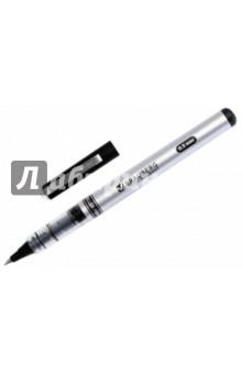 """Ручка роллер черная """"Flagman"""" корпус серебристый (141555)"""