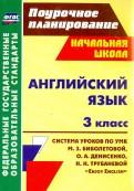 Английский язык. 3 класс. Система уроков по учебнику М. З. Биболетовой и др.