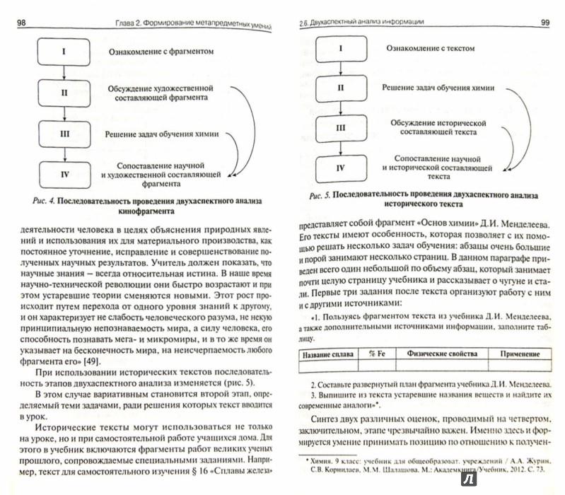 Иллюстрация 1 из 3 для Химия. 8-11 классы. Метапредметные результаты обучения. ФГОС - Журин, Заграничная | Лабиринт - книги. Источник: Лабиринт