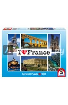 Пазл-1000 Я люблю Францию (59282) пазлы schmidt паззл фэйн