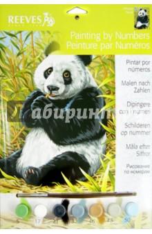 """Набор для раскрашивания по номерам акриловыми красками """"Панда"""" (PPNJ68)"""