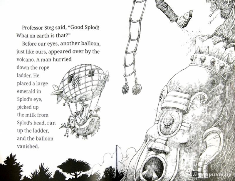Иллюстрация 1 из 6 для Fortunately, the Milk... - Neil Gaiman | Лабиринт - книги. Источник: Лабиринт