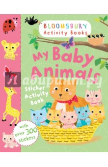 цена на My Baby Animals Sticker Activity Book