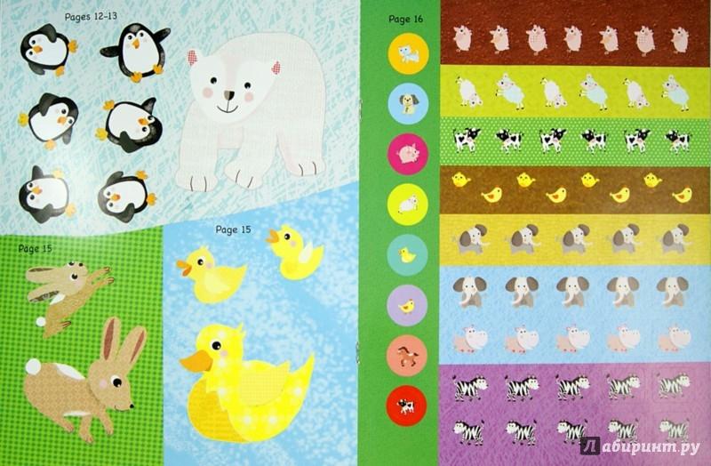 Иллюстрация 1 из 16 для My Baby Animals Sticker Activity Book | Лабиринт - книги. Источник: Лабиринт