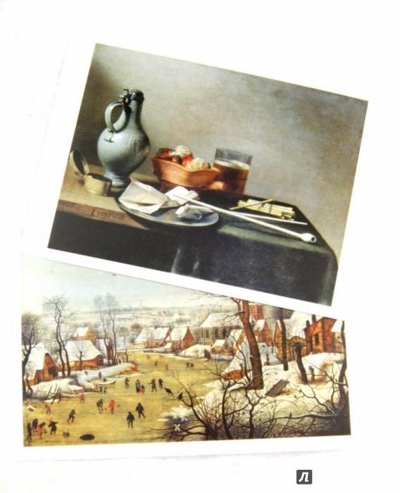 Иллюстрация 1 из 23 для Нидерланды. Фландрия. Голландия. Эрмитаж. Набор открыток. 16 штук | Лабиринт - сувениры. Источник: Лабиринт