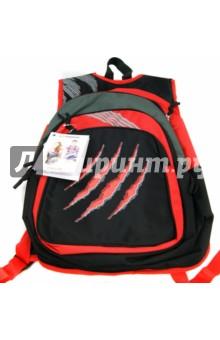 Рюкзак молодежный RED ON BLACK (830680) Silwerhof