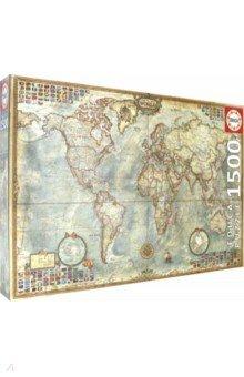 Пазл-1500 Политическая карта (16005) educa пазл политическая карта 1500 деталей