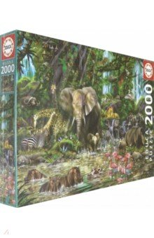 Пазл-2000 Африканские джунгли (16013) пазл 2000 продуктовая лавка 17128