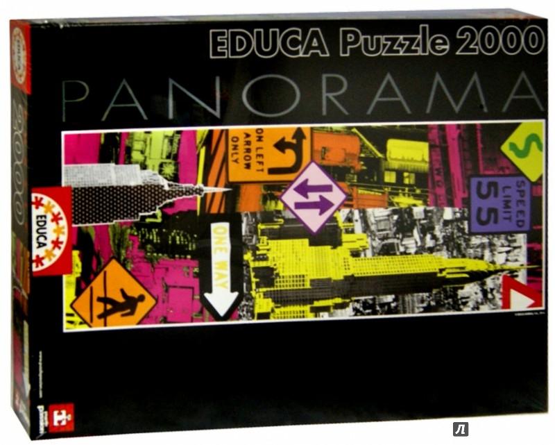 Иллюстрация 1 из 2 для Пазл-панорама-2000 Нью-Йоркский поп-арт (16017) | Лабиринт - игрушки. Источник: Лабиринт